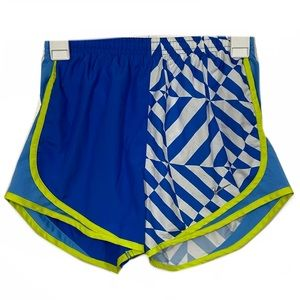 Nike Patterned Lined Running Activewear Shorts